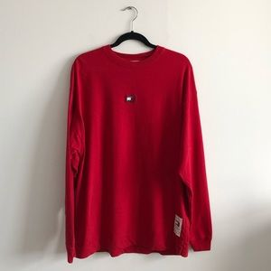 Tommy Hilfiger x Kith Men's Red Long Sleeve Shirt